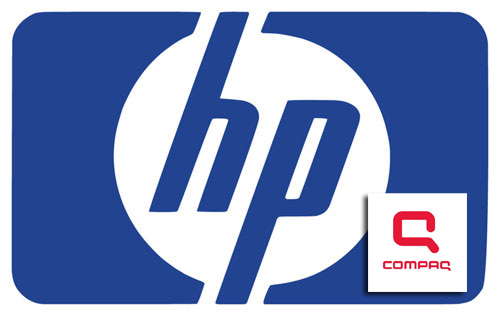 hp compaq wallpaper. compaq logo wallpaper.